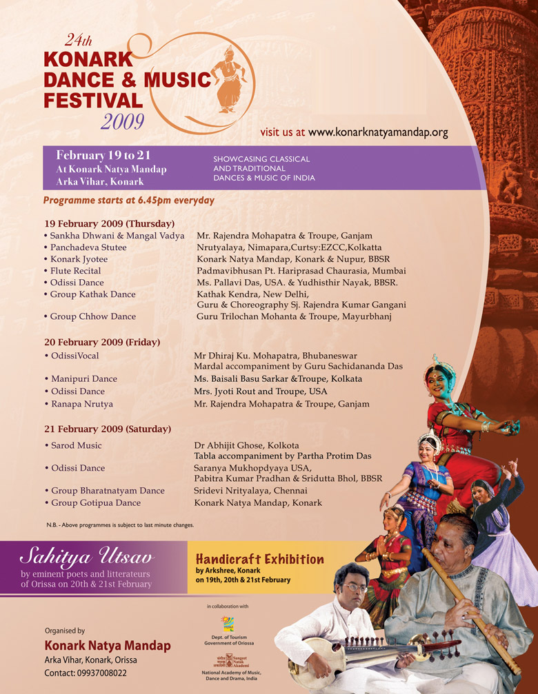 Classical Dance festivals of India