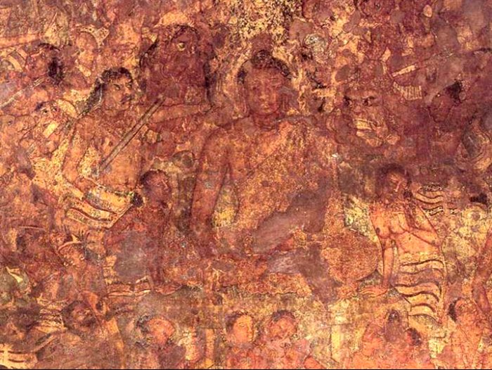 Ajanta Caves Paintings Images