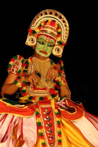 Kalyana Saugandhikam, Mahabharata, Ottan Thullal, Kalamandalam Prabhakaran